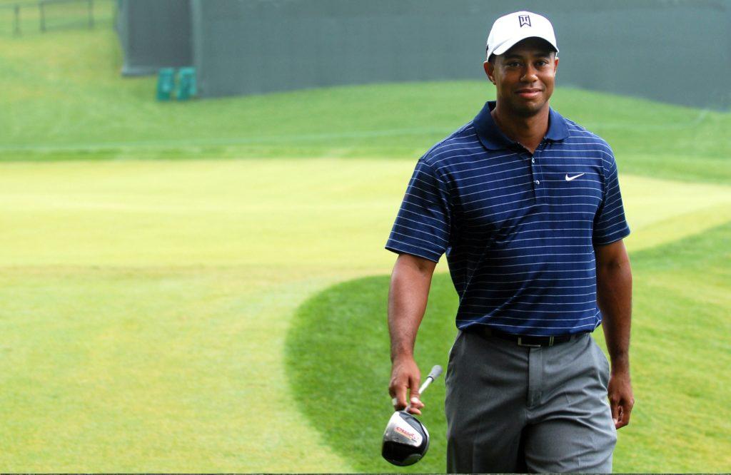 Numéro un mondial Tiger Woods