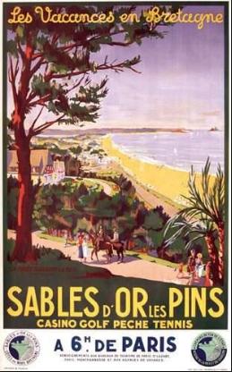 Parcours de Bretagne Les Sables d'Or Les Pins
