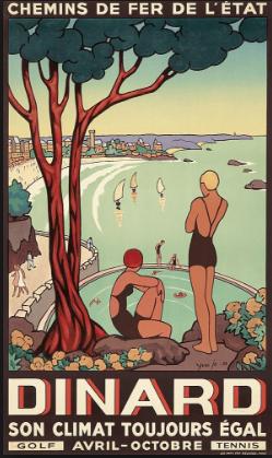 parcours de Dinard 1887
