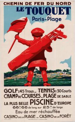 Parcours de golf Le Touquet Paris Plage