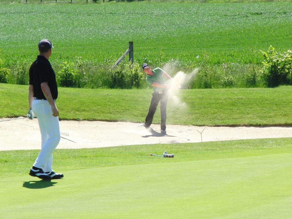 Partie amicale de golf